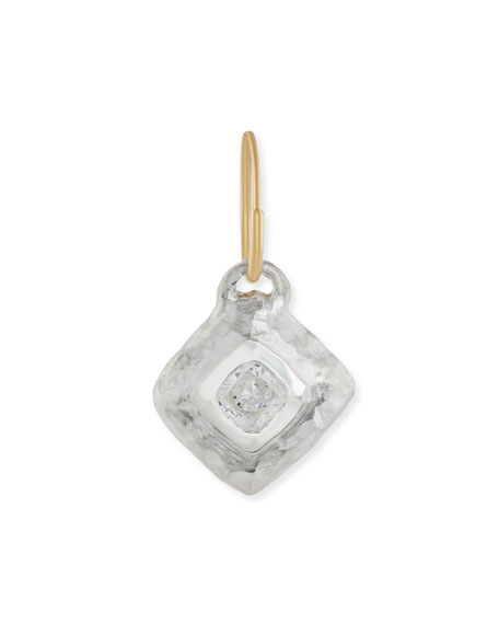 Square Roma Single Earring