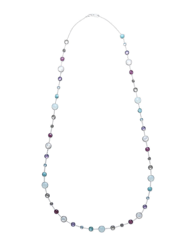 Ippolita Lollitini Sterling Silver Necklace in Eclipse, 16