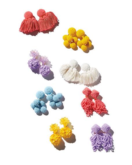 Sachin & Babi Mini Chacha Tassel Earrings