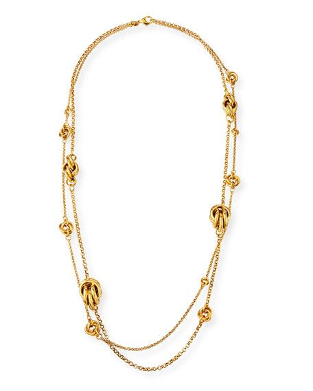 Jose & Maria Barrera Knotted 2-Strand Necklace