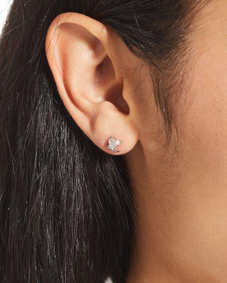 Roberto Coin 18k Diamond Pave X-Stud Earrings