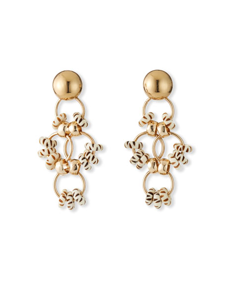 Image 1 of 3: Akola Bone Statement Earrings