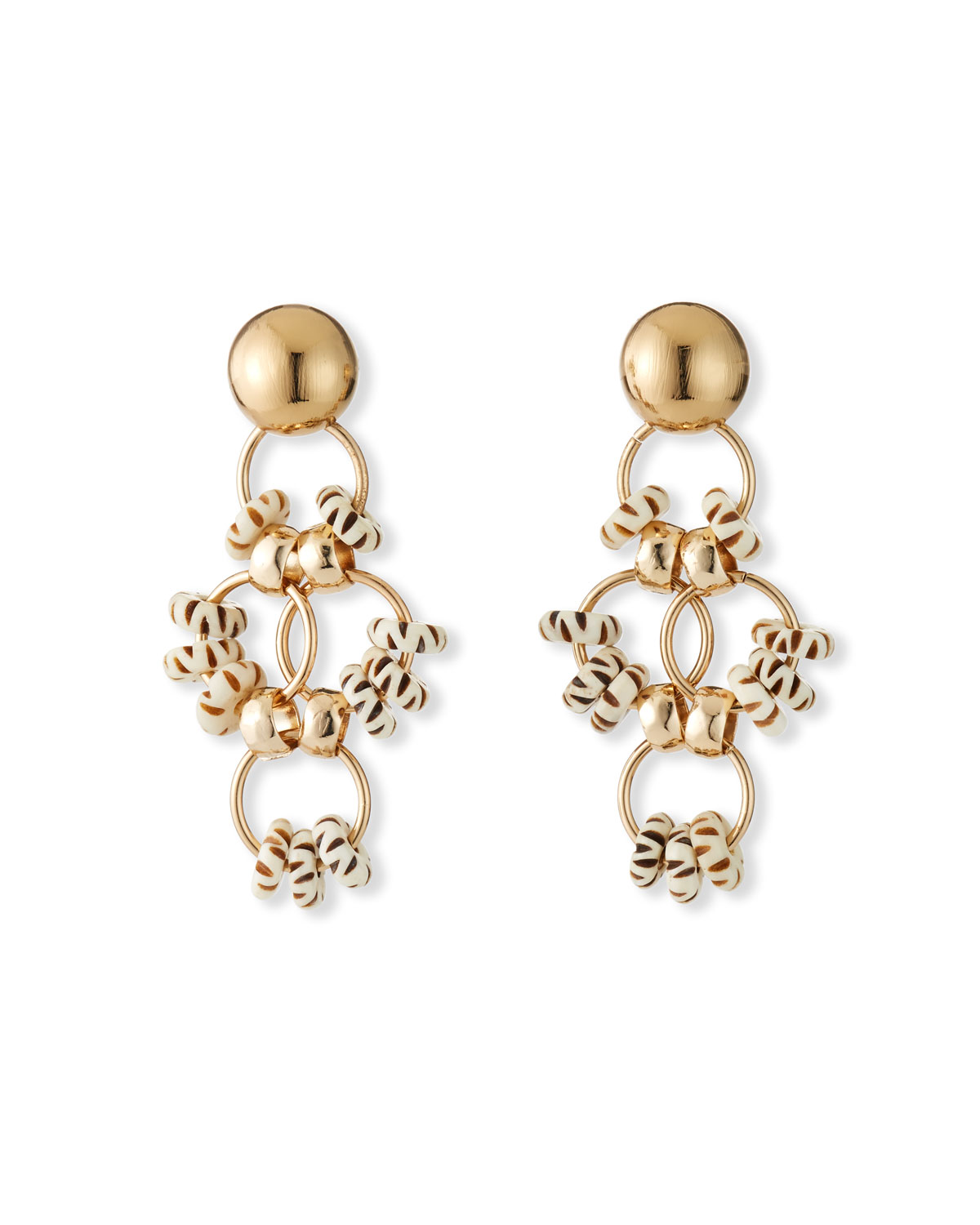 Akola Bone Statement Earrings