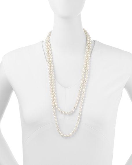 """Majorica Pearl Strand Necklace, 60""""L"""