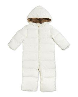 Ralph Lauren Childrenswear Quilted Puffer Snowsuit, Nevis, 9-24 Months