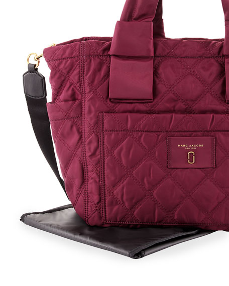 Quilted Nylon Baby Bag
