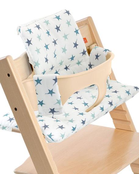 Stokke Tripp Trapp® Seat Cushion, Aqua Star