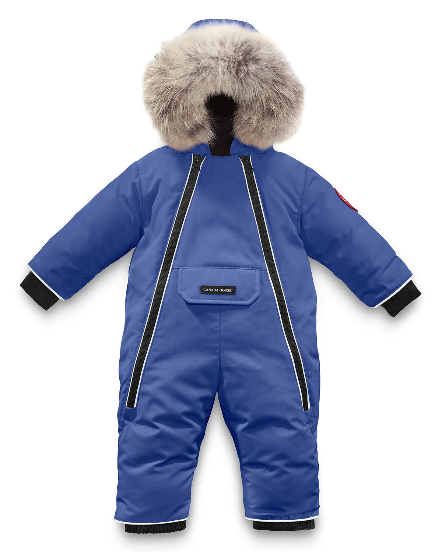 Canada Goose Lamb Snowsuit With Fur Trim Size 6 24 Months