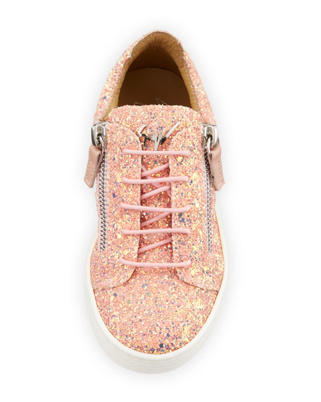 Mattaglitt Glitter Low-Top Sneakers, Toddler Sizes 4-9