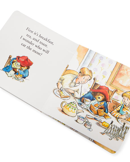 Image 2 of 2: Paddington Bear All Day Board Book