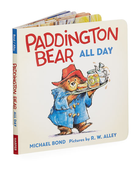 Image 1 of 2: Paddington Bear All Day Board Book