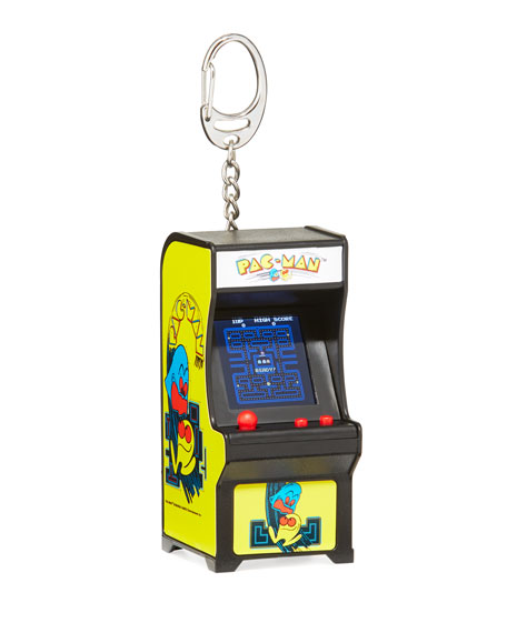 Kids' Tiny Arcade Pac-Man Key Chain