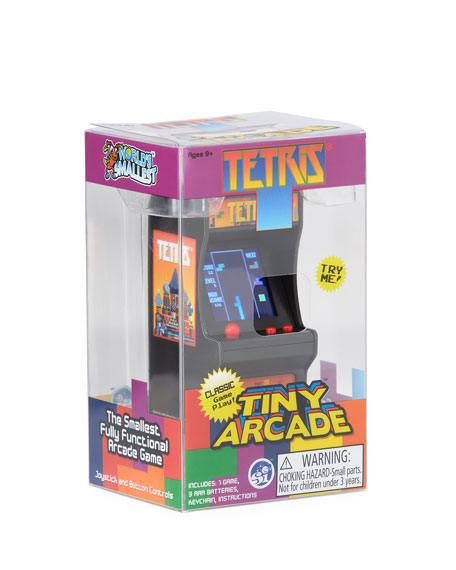 Super Impulse Kids' Tetris Tiny Arcade Game