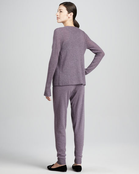 Three-Piece Cashmere Lounge Set , Women's