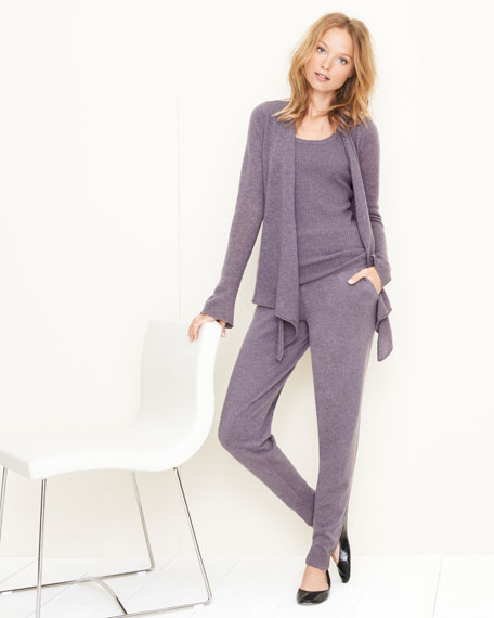 Three-Piece Cashmere Lounge Set