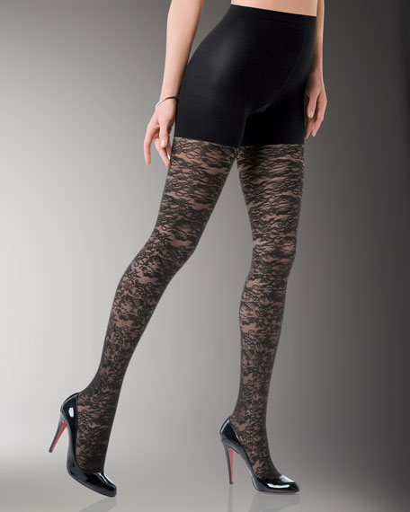 Tight-End Tights, Bloom Lace