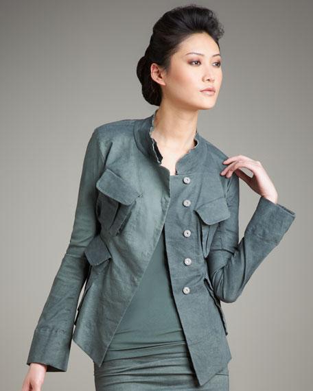Muslin Snap-Front Jacket