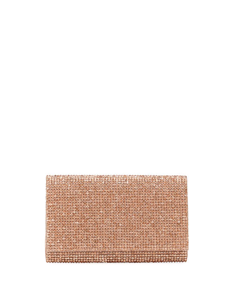Image 1 of 5: Crystal-Embellished Crossbody
