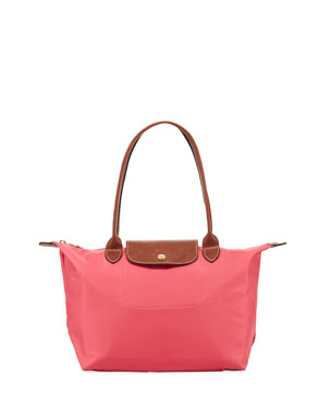 970805f8fc Longchamp Le Pliage Medium Shoulder Tote Bag