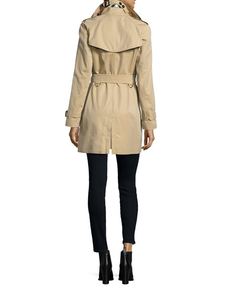 Burberry The Westminster - Mid-Length Classic Fit Heritage Trench Coat, Honey