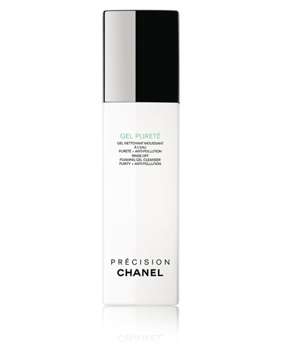 CHANEL <b>GEL PURETÉ</b><br>Rinse-Off Foaming Gel Cleanser Purity + Anti-Pollution 5 oz.