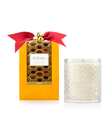 Agraria Balsam Woven Crystal Perfume Candle, 7 oz.