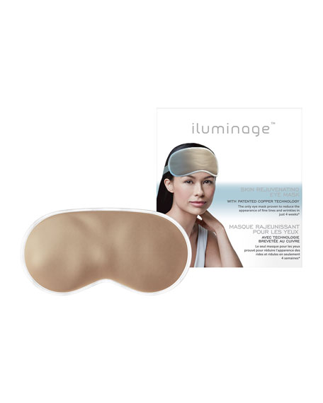 Iluminage Beauty Skin Rejuvenating Eye Mask with Patented