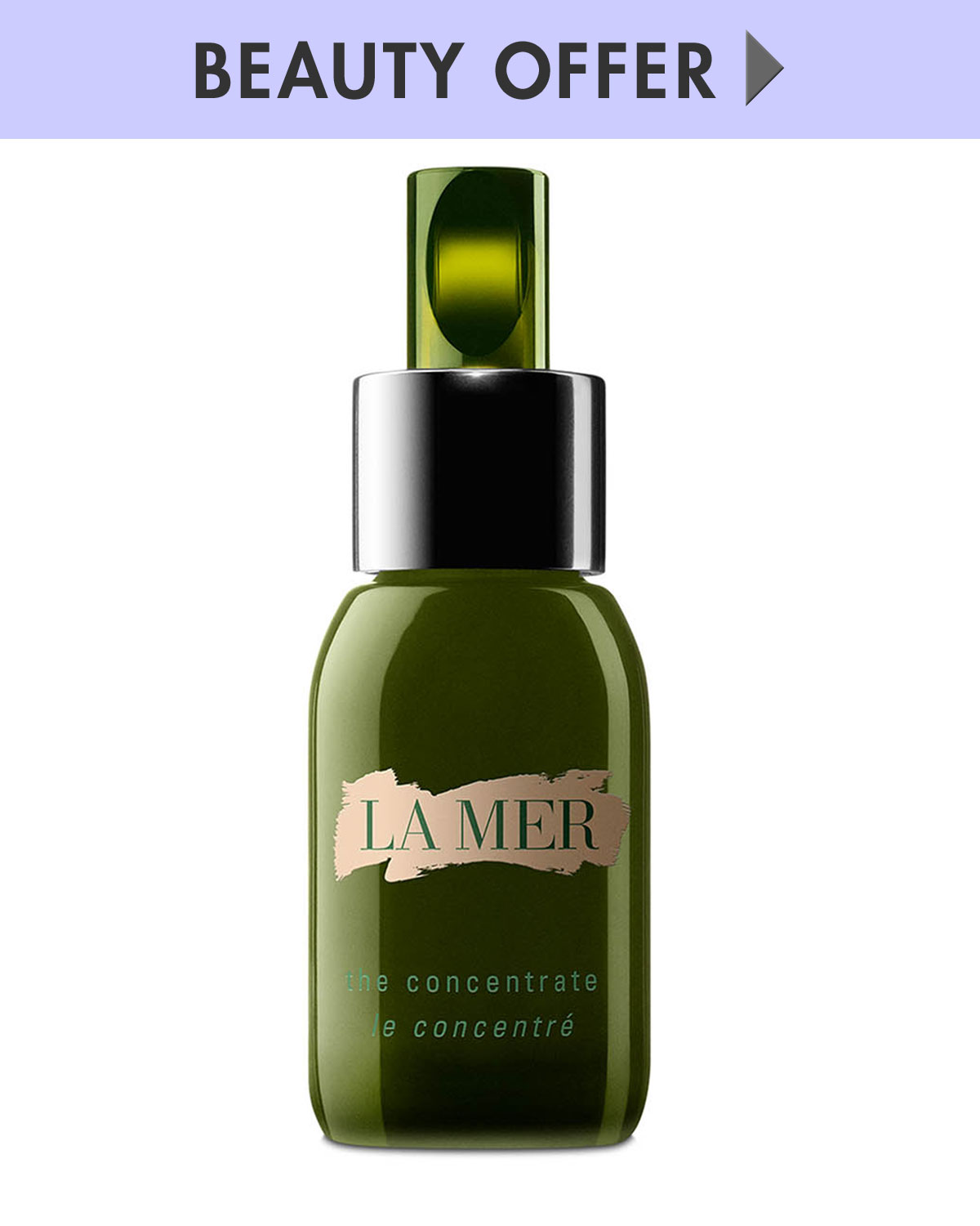 La Mer Yours with any $500 La Mer Purchase