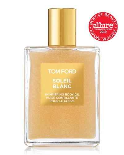 Soleil Blanc Shimmering Body Oil, 3.4 oz./ 100 mL