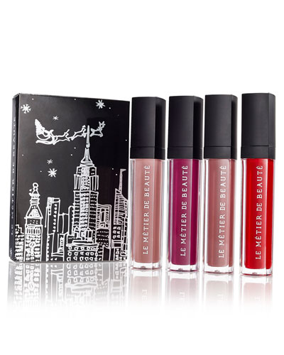 Moisture Matte Lip Crème Collection - Tabou, Ricochet, First Look, & Affinity