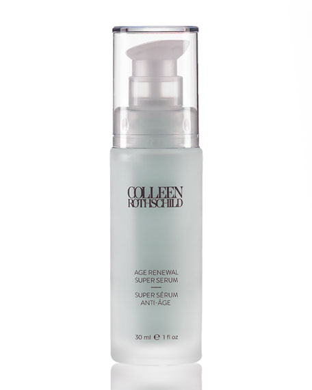 Colleen Rothschild Beauty Age Renewal Super Serum, 1.0 oz./ 30 mL