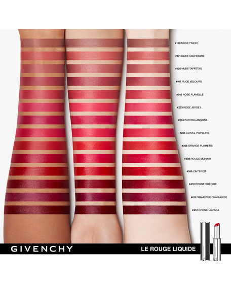 Le Rouge Liquide Collection Lipstick