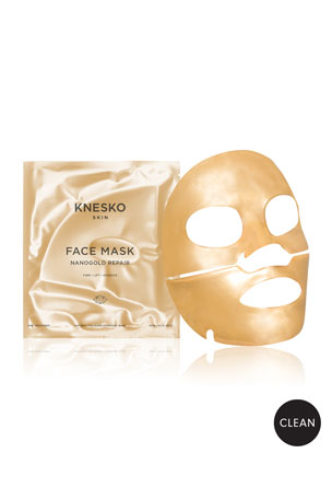 Knesko Skin Nano Gold Repair Collagen Face Masks (4 Treatments)
