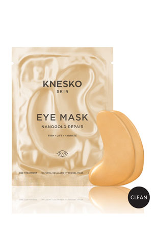 Knesko Skin Nano Gold Repair Collagen Eye Masks (6 Treatments)