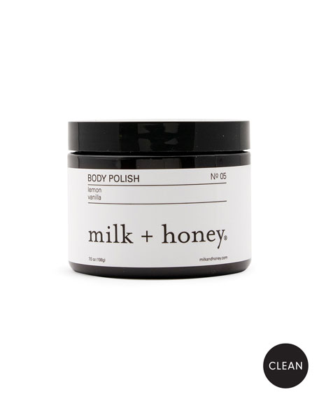 milk + honey Body Polish No. 05, 7 oz.