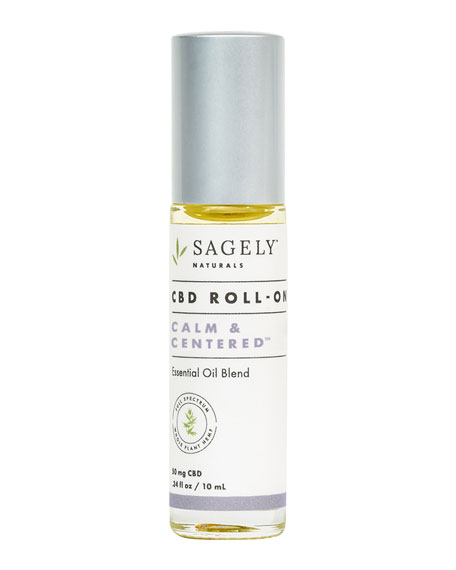 Sagely Naturals Tranquility Stress Treatment Roll-On, .34 oz./ 10 mL