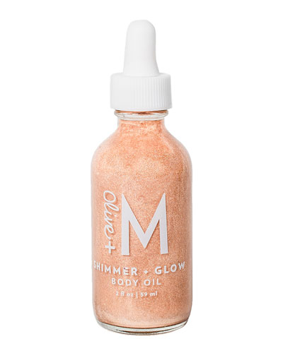 Shimmer + Glow Body Oil  2 oz./ 60 mL
