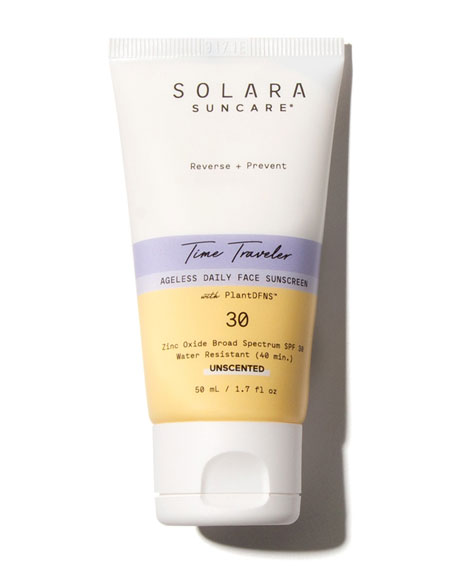 Image 1 of 2: Solara Suncare Time Traveler Ageless Daily Face Sunscreen, 1.7 oz. / 50 mL