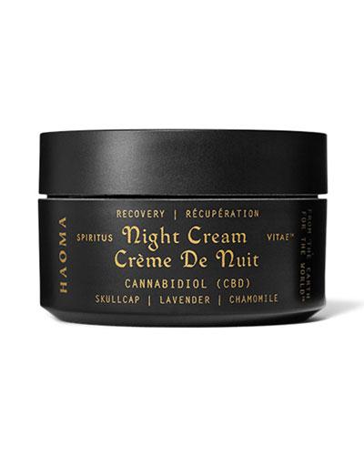 Recovery Night Cream with CBD & Turmeric  1.6 oz / 47 g