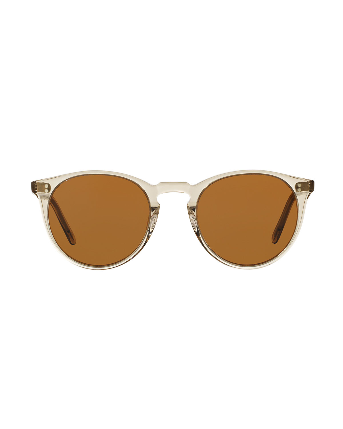 abb39dae793 Oliver Peoples The Row O Malley NYC Peaked Round Sunglasses
