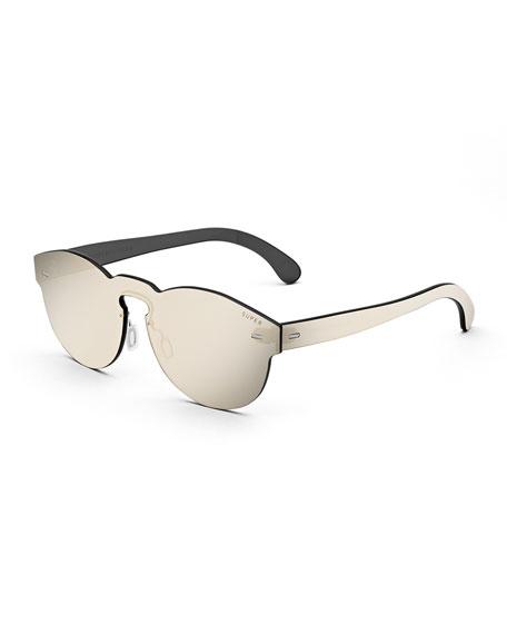 Super by Retrosuperfuture Tuttolente Paloma Unit  Sunglasses, Ivory