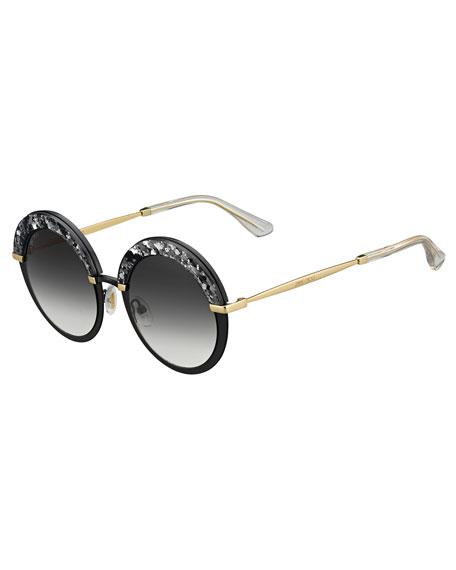 Gotha Round Shimmer Sunglasses