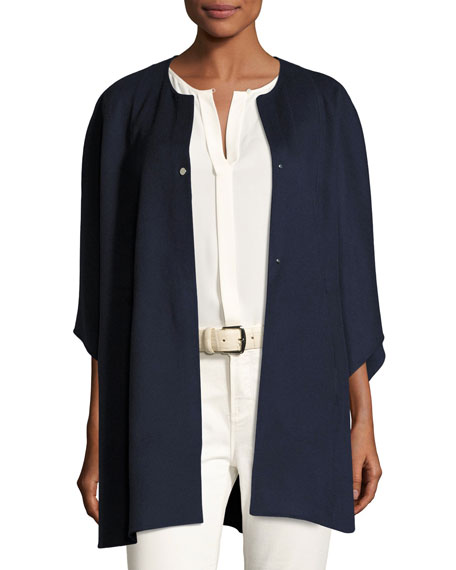 Avery Double-Face Cashmere Cape