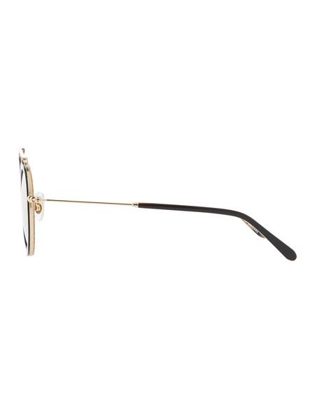 KREWE Conti Mirrored Aviator Sunglasses