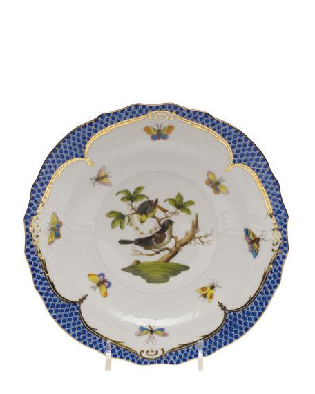 Herend Rothchilds Bird Blue Salad Plate