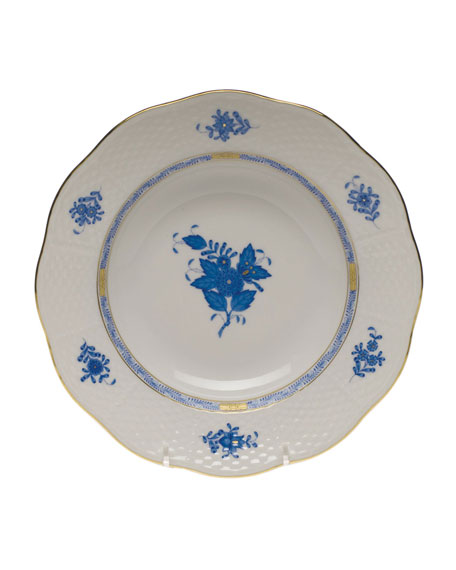 Herend Chinese Bouquet Rim Soup Bowl
