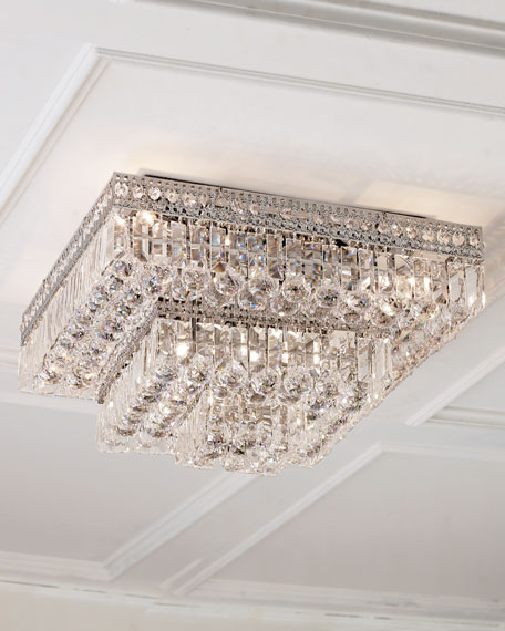 Eight light crystal flush mount ceiling fixture neiman marcus eight light crystal flush mount ceiling fixture aloadofball Gallery