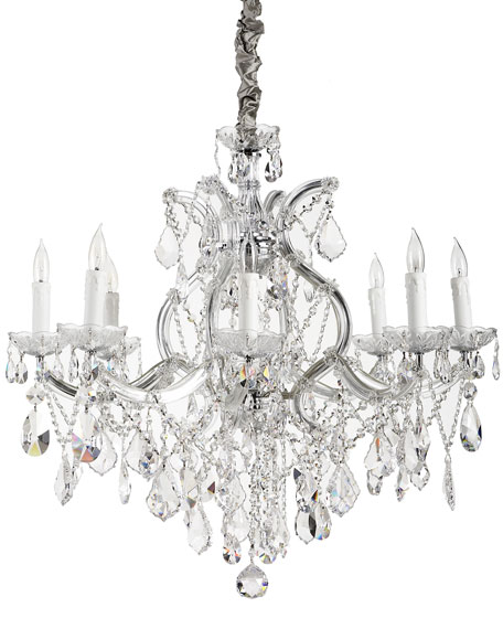 Crystal Drop 9-Light Chandelier
