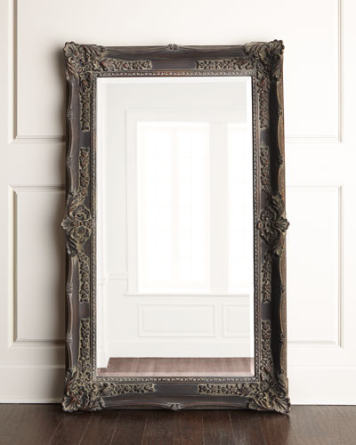 Wall mirrors decorative mirrors floor mirrors neiman for Floor wall mirror