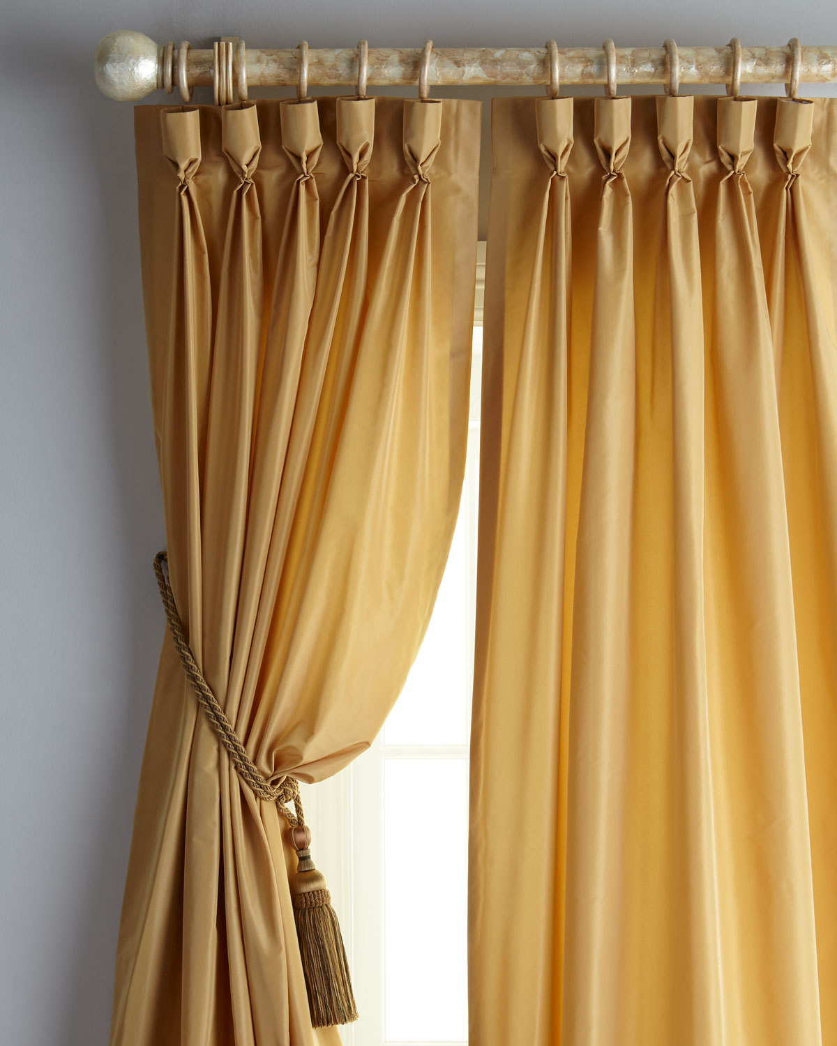 "Eastern Accents Freda Each 48""W x 96""L Goblet-Pocket Kate Curtain"